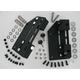 Quick-Release Detachable Saddlebag Mount System for Models w/HD Detachable Backrest - 5320