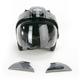 Titanium/Black Mag-9 TI Rally Helmet