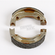 Sintered Metal Grooved Brake Shoes - 504G