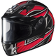 Black/Silver/Red IS-16 Ramper Helmet