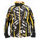 White Strike/Yellow Vapour Jacket