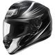 Black/Silver Airfoil Qwest Helmet