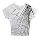 Womens White Aurora Wedge T-Shirt