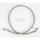 Front Clear-Coated Braided Stainless Steel Brake Line Kits - 1204-2737