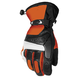 Orange/Black Blitz Snowcross Gloves