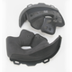 Soft Black Cheek Pad Set for M - L Star Helmets