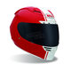 Red Star Rally Helmet - Convertible To Snow
