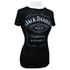 Womens Label Burnout T-Shirt