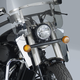 16 in. Chrome Switchblade Windshield Lowers - N76601