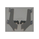 Polished Batwing Plate-Only Hardware - MEK1803