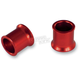 Front Red Wheel Spacers - FWS201