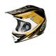 Black/Gold Stinger Air Helmet