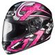Black/Dark Silver/Pink Shock CL-16 Helmet