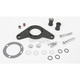 Wrinkle Black Carb Support Bracket and Breather Kit - DM-52WR