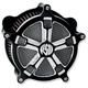 Contrast Cut Venturi Turbo Air Cleaner - 0206-2034-BM