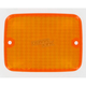Replacement Amber Turn Signal Lens - 25-4060