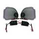 Steel Mesh Speaker Grills w/Tweeters Kit - RG5254