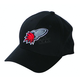 Rocketship Black Ball Cap