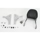 Touring Quick-Detach Passenger Backrest Kit w/8 in. x 8 in. Pad - 34-5210-01