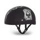 Spades Skull Cap Half Helmet