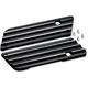 Finned Saddlebag Latch Covers - C1001-B