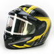Black/Yellow/Black CL-16SN Voltage Helmet w/Electric Shield