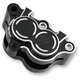 Black Front Left Brake Caliper Housing - 02841