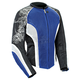 Womens Blue/White/Black Cleo 2.2 Jacket