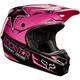 Black/Pink V1 Rockstar Helmet