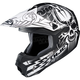 Flat Black/White CL-X6 Ryot Helmet