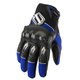 Blue Fury Gloves