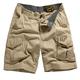 Boys Dark Khaki Slambozo Cargo Shorts