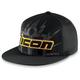 Black Lightning Hat