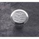 Ball Milled Chrome Billet Choke Knob - 950109FC