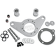 Chrome Carb Support Bracket and Breather Kit - DM-53