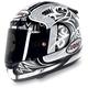 Tornado Silver/Anthracite Apex Helmet
