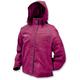 Womens Black Cherry Tekk Toad Rain Jacket