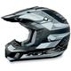 FX-17 Flat Black Multi Helmet
