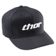 Basic Curved Bill Black/White Hat