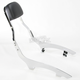 Short 14 in. Square Sissy Bar w/Pad - 02-5636