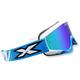Blue/White X-Fade Volcano Goggles - 067-10215