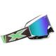 Fluorescent Green/White X-Fade Volcano Goggles - 067-10225