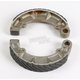 Sintered Metal Grooved Brake Shoes - 316G