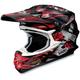 Black/Red VFX-W Grant Helmet
