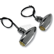 Chrome Astro Amber LED Center Mount Marker Lights - 05-52AC