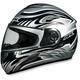 FX-100 Silver Multi Helmet