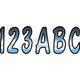 Series 200 Gradation Number/Letter Kit - CHBKG200