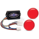 Plug-In Illuminator with Red Lenses - ILL-03-RL-C