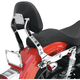Short Billet Backrest w/Wide Pad and Swivel Action - 32-0003-01