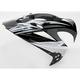 Black Reflective Visor for Variant Helmets - 0132-0598